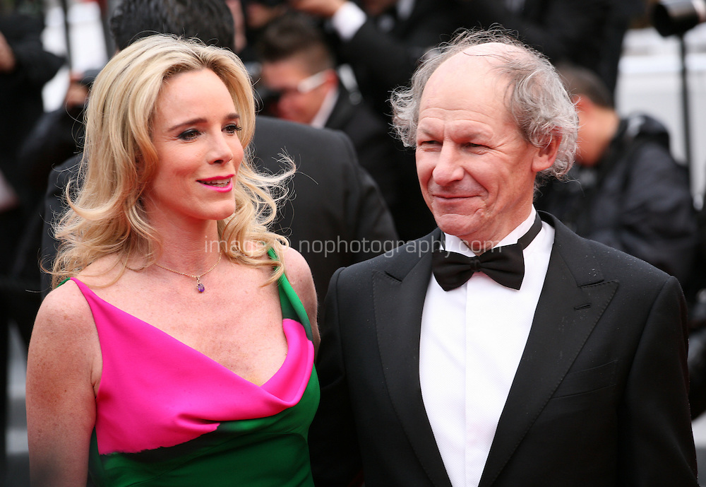 Geraldine Danon  and Philippe Poupon arriving at the Vous N'Avez Encore Rien Vu gala screening at the 65th Cannes Film Festival France. Monday 21st May 2012 in Cannes Film Festival, France.