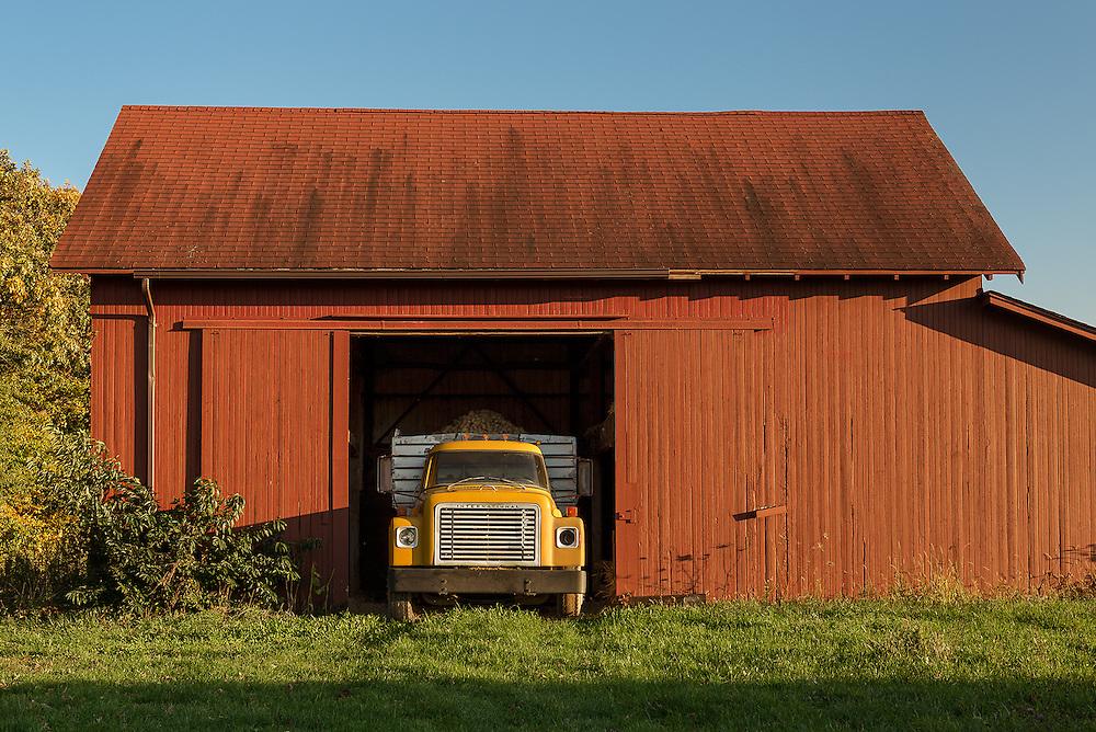 Potato Truck & Red Barn<br /> Mattituck, Long Island