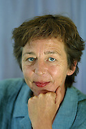 Author Renate Dorrestein from the Netherlands, pictured at the Edinburgh International Book Festival, where she gave a talk about her work along with fellow Dutch writers Karel Glastra van Loon and Marcel Möring...