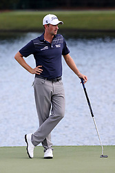 September 20, 2018 - Atlanta, GA, U.S. - ATLANTA, GA - SEPTEMBER 20: Webb Simpson during the first round of the PGA Tour Championship on September 20, 2018, at East Lake Golf Club in Atlanta, GA. (Photo by Michael Wade/Icon Sportswire) (Credit Image: © Michael Wade/Icon SMI via ZUMA Press)