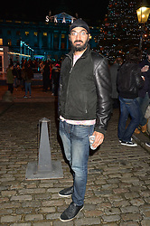 Cricketer MONTY PANESAR at Skate at Somerset House in association with Fortnum & Mason held on 10th November 2014.