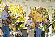"""Pine Bush, New York  - The band """"Oxford Station"""" plays at the Gazebo on Main Street during the Orange County Open Studio Arts Tour on Oct. 13, 2013. The performance was also sponsored by the Pine Bush Area Arts Council."""
