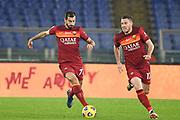 Foto Luciano Rossi/AS Roma/ LaPresse<br /> 17/12/2020 Roma ( Italia)<br /> Sport Calcio<br /> AS Roma - Torino<br /> Campionato di Calcio Serie A Tim 2020 2021<br /> Stadio Olimpico di Roma<br /> Nella foto: Henrikh Mkhitaryan, Jordan Veretout<br /> <br /> Photo Luciano Rossi/ AS Roma/ LaPresse<br /> 17/12/2020 Rome (Italy)<br /> Sport Soccer<br /> AS Roma - Torino<br /> football Championship League A Tim 2020 2021<br /> Olimpico Stadium of Rome<br /> In the pic: Henrikh Mkhitaryan, Jordan Veretout