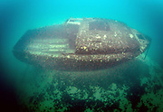 The Secret wreck at Dutch Springs, Scuba Diving Resort in Pennsylvania