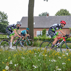 VELDHOVEN (NED) July 4 <br /> CYCLING <br /> The first race of the Schwalbe Topcompetition the Simac Omloop der Kempen<br /> (171) Maxim Andreiu<br /> (172) Loran Cassaert