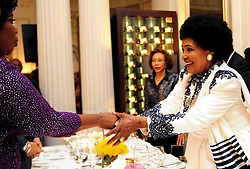 """Winnie Madikizela-Mandela personifies everything about the African saying """"Woman, you are a rock"""", Deputy President Cyril Ramaphosa said at her 80th birthday celebrations in Cape Town.<br /> <br /> The glittering event was held at Cape Town's swanky Mount Nelson Hotel last night 15 September 2016."""