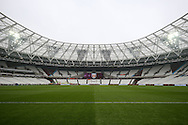 a General view of inside the London Stadium before k/o. Premier league match, West Ham Utd v West Bromwich Albion at the London Stadium, Queen Elizabeth Olympic Park in London on Saturday 11th February 2017.<br /> pic by John Patrick Fletcher, Andrew Orchard sports photography.