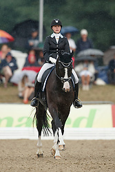 Von Wendt Anna, (FIN), Schubert 8<br /> First Qualifier 6 years old horses<br /> World Championship Young Dressage Horses - Verden 2015<br /> © Hippo Foto - Dirk Caremans<br /> 07/08/15