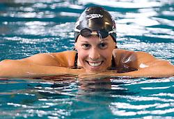 Anja Carman of PK Triglav Kranj during Slovenia Open swimming Championship and MM Kranj 2011, on June 4, 2011 in Olympic pool, Kranj, Slovenia. (Photo By Vid Ponikvar / Sportida.com)
