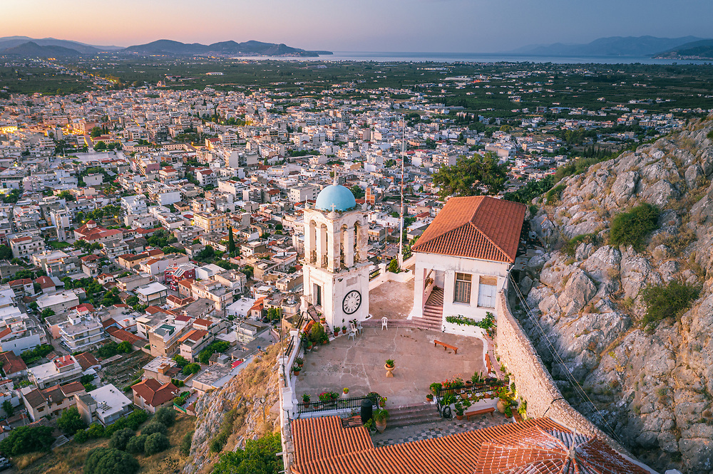 Monastery of  Holy Mary (Katakekrimmeni) at Argos, Greece