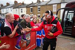 Korey Smith of Bristol City arrives - Rogan Thomson/JMP - 01/04/2017 - FOOTBALL - Griffin Park - Brentford, England - Brentford v Bristol City - Sky Bet EFL Championship.