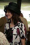 Mrs. Patrick Lawrence.  Glorious Goodwood. 2 August 2007.  -DO NOT ARCHIVE-© Copyright Photograph by Dafydd Jones. 248 Clapham Rd. London SW9 0PZ. Tel 0207 820 0771. www.dafjones.com.