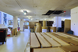 Sterling Memorial Library SML Tech Services Construction Progress. First Photo Submission. First Floor.