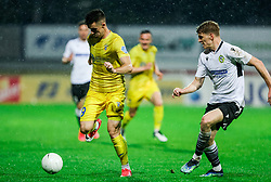 Arnel Jakupovic of Domzale during football match between NK Domzale and NK Koper in 34th Round of Prva liga Telekom Slovenije 2020/21, on May 16, 2021 in Sports park Domzale, Domzale, Slovenia. Photo by Vid Ponikvar / Sportida