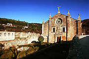 The old Monastery of Sao Joao de Tarouca. The Douro river valley wine region is the oldest in the world. It's were  famous Port wine is produced  and its landscape was declared Unesco World Heritage. The Douro river is born in Spain and reaches its mouth in Oporto city. MAXIMUM QUALITY AVAILABLE