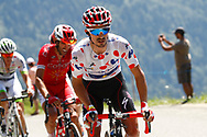 Julian Alaphilippe (FRA - QuickStep - Floors) Polka dots jersey, during the 105th Tour de France 2018, Stage 11, Alberville - La Rosiere Espace Bernardo (108,5 km) on July 18th, 2018 - Photo Luca Bettini / BettiniPhoto / ProSportsImages / DPPI