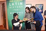 John Leguizamo signs books after a performance at ASU Gammage