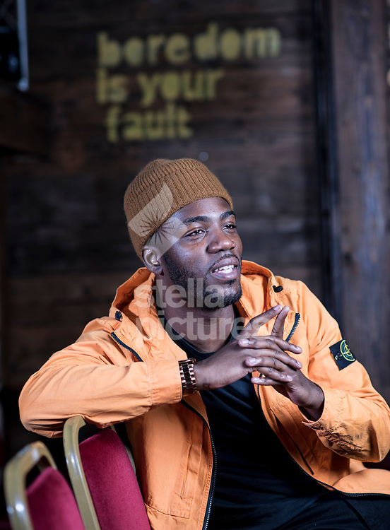 Comedian Mo GillIgan pictured at Up The Creek Comedy Club.<br /> Picture by Daniel Hambury/@stellapicsltd 07813022858<br /> 21/03/2018