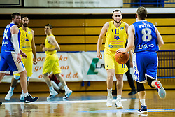 Nejc Martinčič of GGD Sencur during basketball match between GGD Sencur and Zlatorog Lasko in First Round of 1. SKL 2020/21, on October 31, 2020 in Sport hall Sencur, Sencur, Slovenia. Photo by Grega Valancic / Sportida