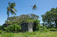 Historical Portuguese Roman Catholic Church, Vamizi Island, Mozambique
