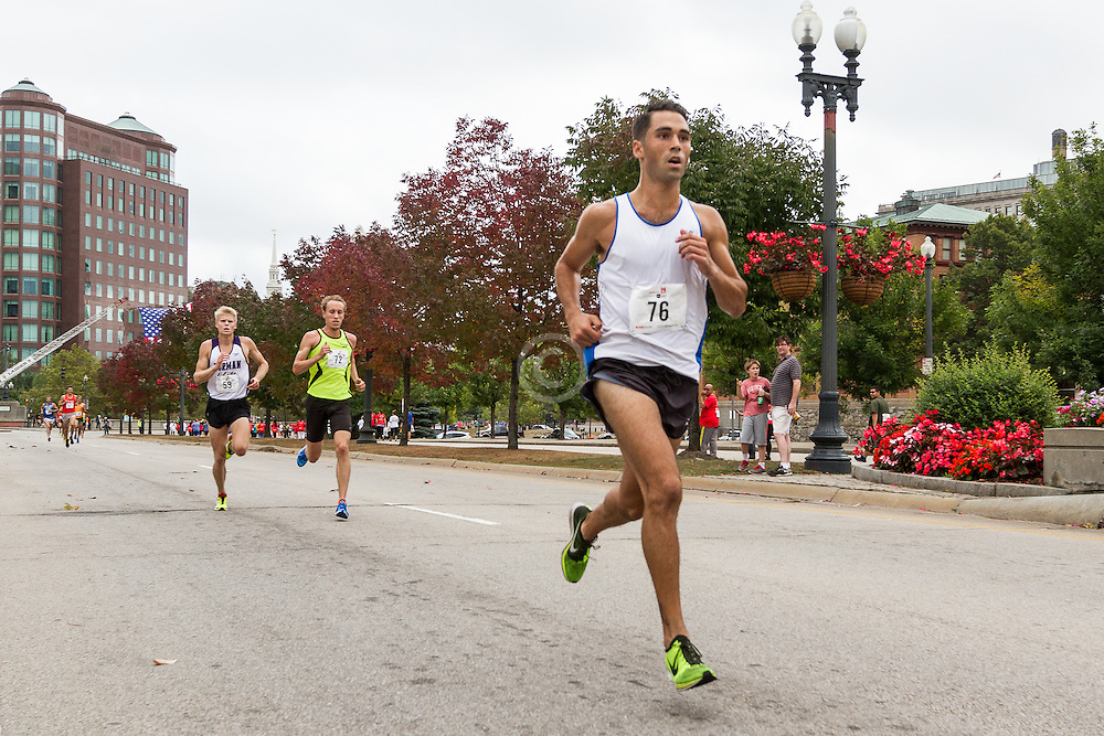 CVS Health Downtown 5k, USA 5k road championship, Julian Saad, quarter to go