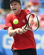 Jenson Brooksby at the 2021 Citi Open. Photo by Kyle Gustafson