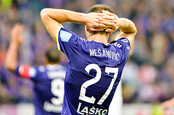 Jasmin Mesanovic of NK Maribor during football match between NK Maribor and NK Olimpija Ljubljana in 14th Round of Prva liga Telekom Slovenije 2018/19, on October 27, 2018 in Ljudski vrt , Maribor, Slovenia. Photo by Mario Horvat / Sportida