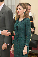Queen Letizia of Spain attends the 2013 Sports National Awards ceremony at El Pardo palace in Madrid, Spain. December 03, 2014. (ALTERPHOTOS/Victor Blanco)