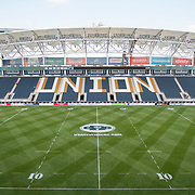 An general view of PPL Park on the evening of Friday prior to the opening group stage matches of the 2014 USA Sevens Colligate Rugby Championship. May 30, 2014. <br /> <br /> (Jack Megaw/www.jackmegaw.com)<br /> <br /> <br /> <br /> ©Jack Megaw, 2014. <br /> ALL RIGHTS RESERVED. NO UNPAID USE.