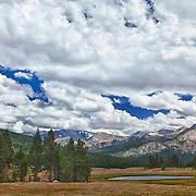 Dana Meadows Tioga Pass - Yosemite - HDR