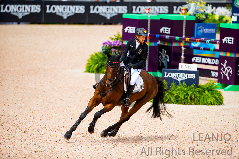 Ingrid Klimke - SAP Hale Bob Old<br /> FEI World Equestrian Games Tryon 2018<br /> © DigiShots
