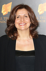 © Licensed to London News Pictures. 18/03/2014, UK. Rebecca Front, The Royal Television Society Programme Awards, Grosvenor House Hotel, London UK, 18 March 2014. Photo credit : Richard Goldschmidt/Piqtured/LNP