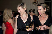 LIBBY FERGUSON; DAISY WAUGH, Imogen Edwards-Jones - book launch party for ' Hospital Confidential' Mandarin Oriental Hyde Park, 66 Knightsbridge, London, 11 May 2011. <br />  <br /> -DO NOT ARCHIVE-© Copyright Photograph by Dafydd Jones. 248 Clapham Rd. London SW9 0PZ. Tel 0207 820 0771. www.dafjones.com.