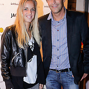 NLD/Amsterdam/20121001- Uitreiking Bachelorette List 2012, Arantxa Rus en haar vader Lous