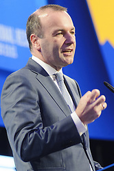 May 27, 2019 - Brussels, Brussels, Belgium - The candidate for the head of the European Commission Manfred Weber (EPP group), in a press conference following the results of the European elections 2019. (Credit Image: © Nicolas Landemard/Le Pictorium Agency via ZUMA Press)