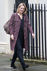 Downing Street, London, February 7th 2017. Home Secretary Amber Rudd arrives in Downing Street for the weekly UK cabinet meeting.