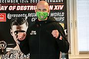 Muay Thai / K1: Day of Destruction XIV, Wiegen, Hamburg, 11.12.2020<br /> Kim Jensen (DEN)<br /> © Torsten Helmke