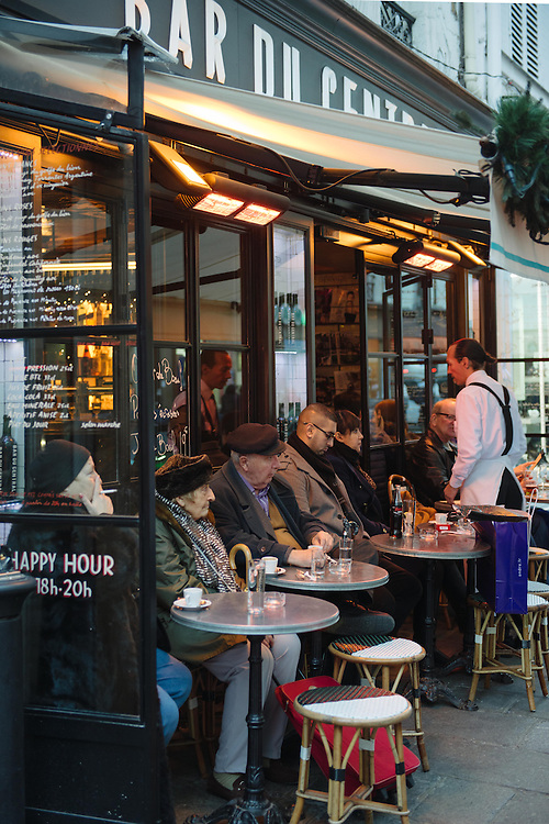 Bar du Centre terrasse in the 7th arrondissement