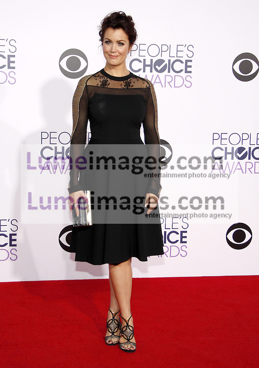 Bellamy Young at the 41st Annual People's Choice Awards held at the Nokia L.A. Live Theatre in Los Angeles on January 7, 2015. Credit: Lumeimages.com