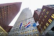 Nederland, Den Haag, 27-11-2019Het gebouw, de gebouwen, van het ministerie van justitie in het centrum van de stad .Foto: Flip Franssen