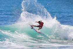 Current No.9 on the Jeep Leaderboard Filipe Toledo of Brazil advances directly to Round Three of the 2017 Hurley Pro Trestles after winning Heat 9 of Round One at Trestles, CA, USA.