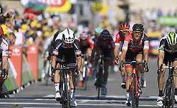 July 18, 2017 - Romans-Sur-Isere, France - ROMANS-SUR-ISERE, FRANCE - JULY 18 : MATTHEWS Michael of Team Sunweb, BOASSON HAGEN Edvald of Dimension Data, DEGENKOLB John of Trek - Segafredo  during stage 16 of the 104th edition of the 2017 Tour de France cycling race, a stage of 165 kms between Le Puy-en-Velay and Romans-Sur-Isere on July 18, 2017 in Romans-Sur-Isere, France, 18/07/2017 (Credit Image: © Panoramic via ZUMA Press)