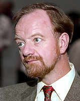 Robin Cook, MP, Shadow Minister for Trade & Industry, Labour Party, UK, 19921002RC3.<br /> <br /> Copyright Image from Victor Patterson, Belfast, UK<br /> <br /> t: +44 28 9066 1296 (from Rep of Ireland 048 9066 1296)<br /> m: +44 7802 353836<br /> e: victorpattersonbelfast@gmail.com<br /> <br /> www.images4media.com<br /> <br /> Please see my full Terms and Conditions of Use at https://www.images4media.com/p/terms-conditions - it is IMPORTANT that you familiarise yourself with them.<br /> <br /> Images used online incur an additional cost. This cost should be agreed in writing in advance. Online images must be visibly watermarked i.e. © Victor Patterson or that of the named photographer within the body of the image. The original metadata must not be deleted from images used online.<br /> <br /> This image is only available for the use of the download recipient i.e. television station, newspaper, magazine, book publisher, etc, and must not be passed on to a third party. It is also downloaded on condition that each and every usage is notified within 7 days to victorpattersonbelfast@gmail.com.<br /> <br /> The right of Victor Patterson (or the named photographer) to be identified as the author is asserted in accordance with The Copyright Designs And Patents Act (1988). All moral rights are asserted.