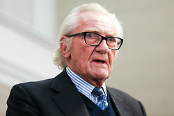 © Licensed to London News Pictures. 27/11/2019. London, UK. Former Conservative Deputy Prime Minister, LORD MICHAEL HESELTINE speaks to the Liberal Democrat party activist and members of the media in De Vere Grand Connaught Rooms, Holborn about Brexit and the upcoming General Election. LORD MICHAEL HESELTINE supports Liberal Democrat candidates, SAM GYIMAH and CHUKA UMUNNA who are standing against the Tories on anti-Brexit manifestos. Britons go to the polls on 12 December in a General Election. Photo credit: Dinendra Haria/LNP