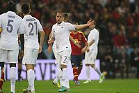 FOOTBALL - FIFA WORLD CUP 2014 - QUALIFYING - SPAIN v FRANCE - 16/10/2012 - PHOTO MANUEL BLONDEAU / AOP PRESS / DPPI - FRANCK RIBERY
