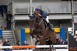 De Wit Thomas (BEL) - Carlson<br /> Belgium Championship Jumping - Lanaken 2012<br /> © Dirk Caremans