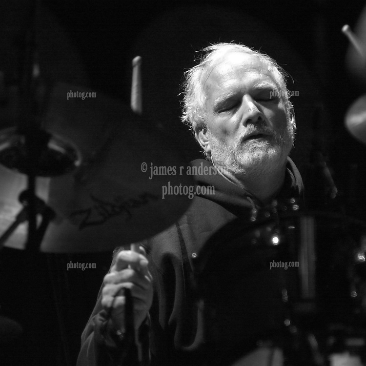 Bill Kreutzmann of The Dead in concert at the Hartford Meadows 21 June 2003