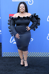 BET Presents 2018 Soul Train Awards Orleans Arena Orleans Hotel & Casino Las Vegas, Nv November 17, 2018. 17 Nov 2018 Pictured: Amber Riley. Photo credit: KWKC/MEGA TheMegaAgency.com +1 888 505 6342