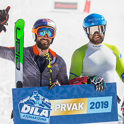 20190330: SLO, Alpine Ski - Slovenian National Championship in Downhill, Krvavec