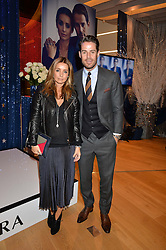 JAMIE & LOUISE REDKNAPP at the #PandoraWishes Campaign Launch Event, Pandora Marble Arch flagship store, London on 12th November 2014.